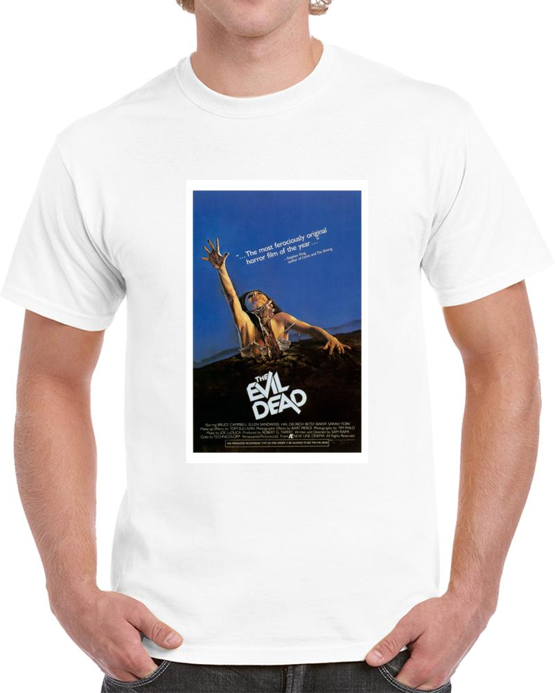 X6uljt3e 1980s Classic Vintage Movie Poster T-shirt