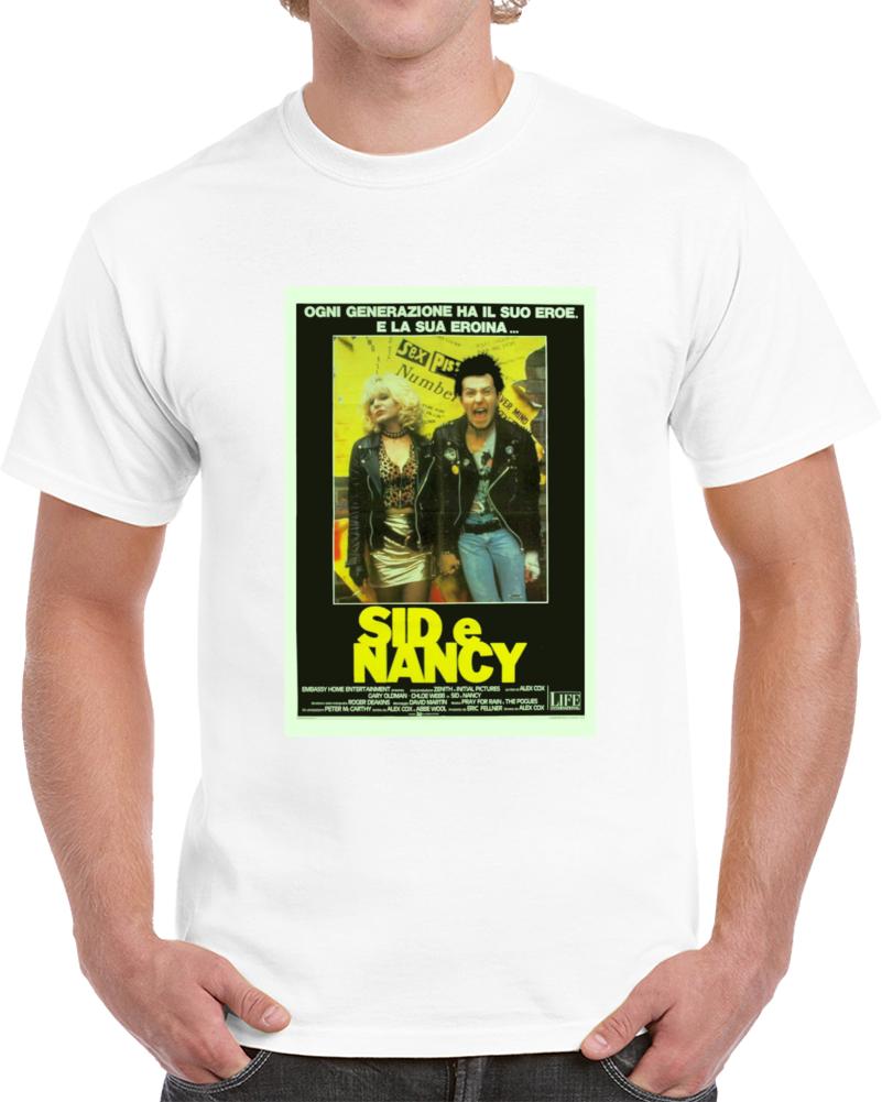 94gezwqc 1980s Classic Vintage Movie Poster T-shirt