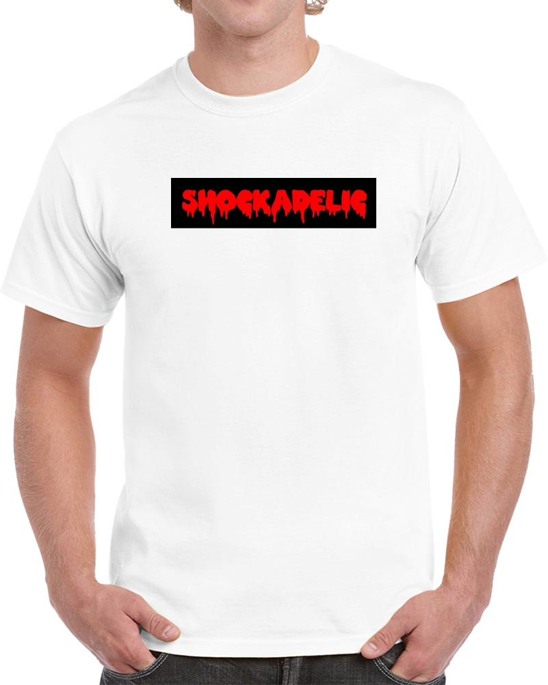 Shockadelic Cult + Trash Movie Poster T-shirts Logo T-shirt