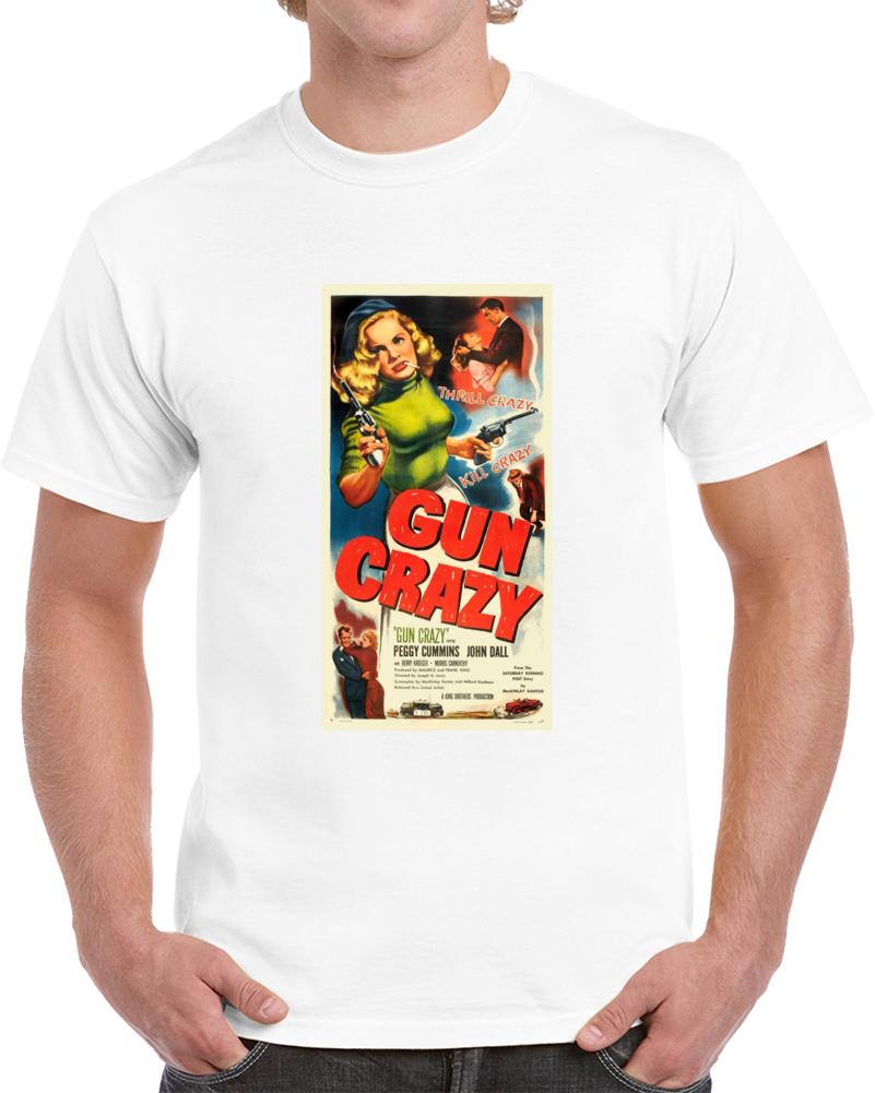 Lfhtqbk4 1950s Classic Vintage Movie Poster T-shirt