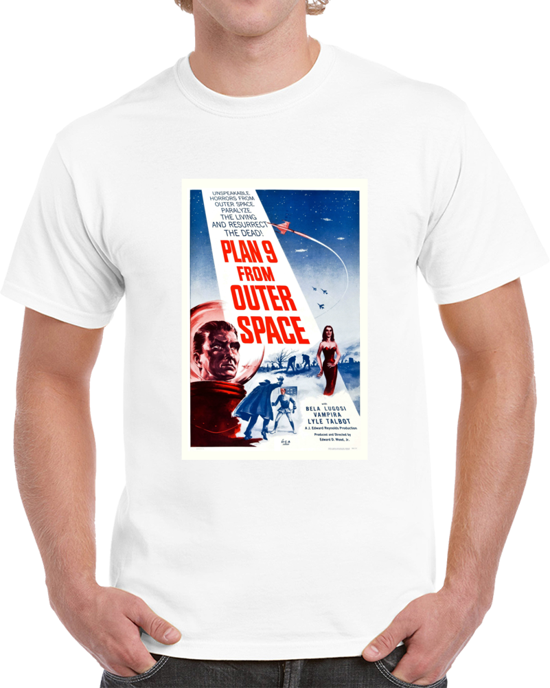 25w2v9t7 1950s Classic Vintage Movie Poster T-shirt