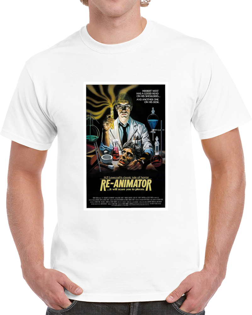 Arszs34l 1980s Classic Vintage Movie Poster T-shirt