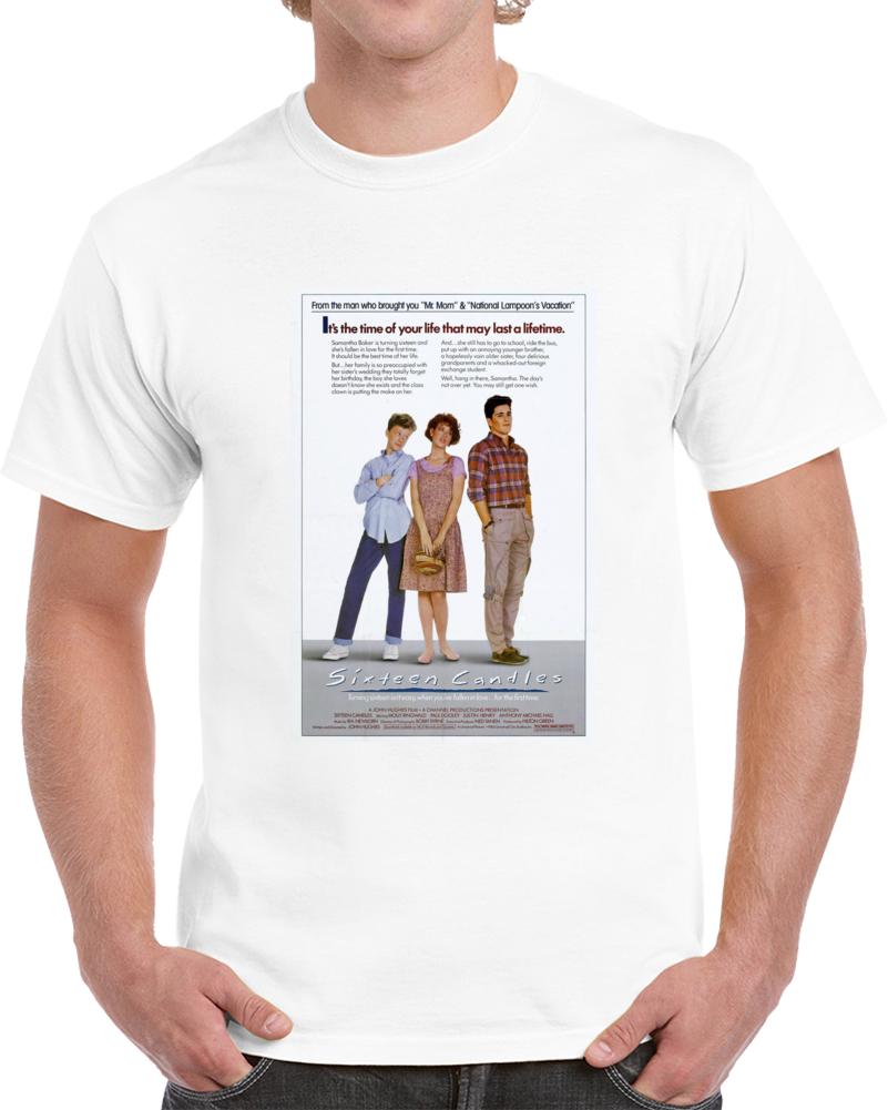 Mxebzg96 1980s Classic Vintage Movie Poster T-shirt
