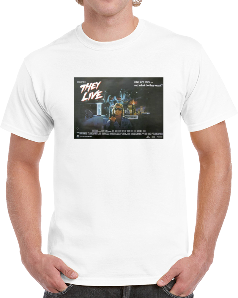 Eplb9ubr 1980s Classic Vintage Movie Poster T-shirt