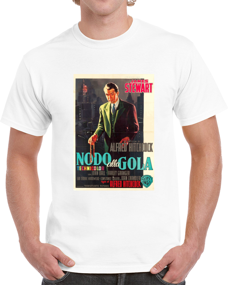 Qy58t5kn 1940s Classic Vintage Movie Poster T-shirt