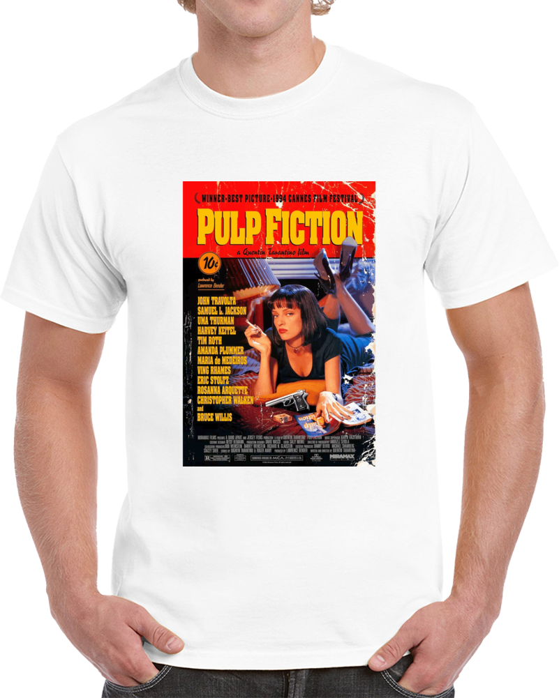 7mcf3e9n 1990s Classic Vintage Movie Poster T-shirt