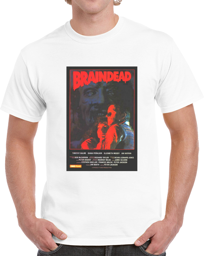Dmeu68aw 1990s Classic Vintage Movie Poster T-shirt