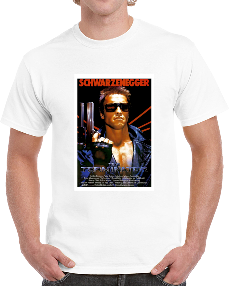 Nshvy7ew 1980s Classic Vintage Movie Poster T-shirt