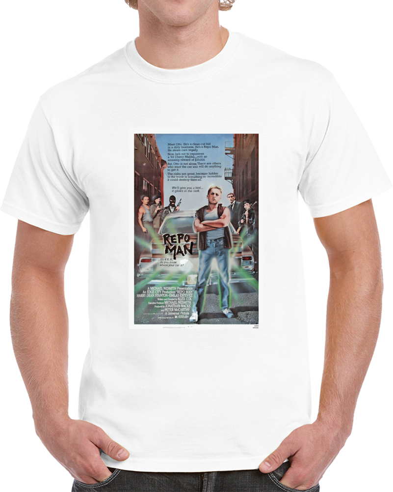 Sxy2e4n7 1980s Classic Vintage Movie Poster T-shirt