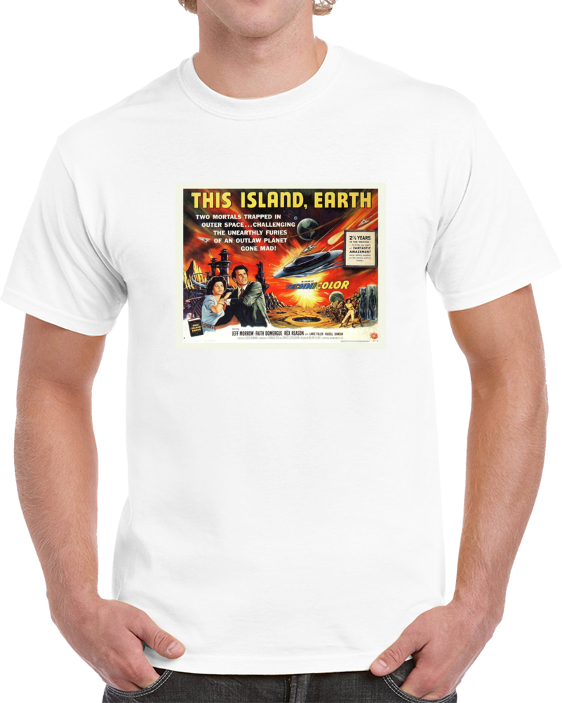Cxn8s33c 1950s Classic Vintage Movie Poster T-shirt