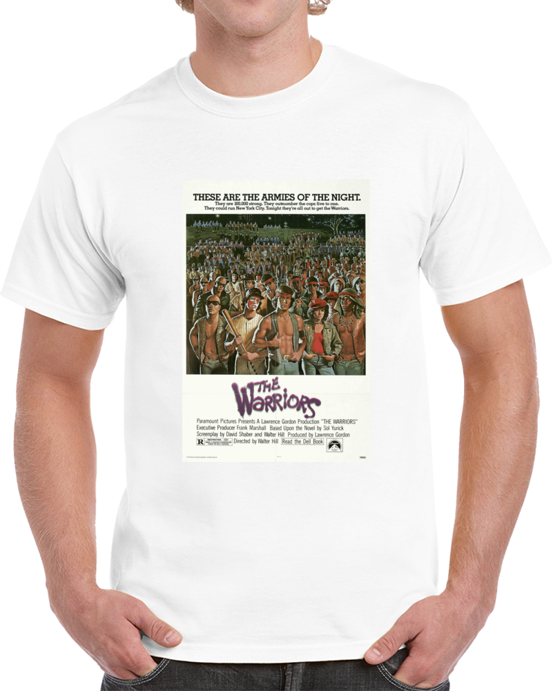 Yp6tyncr 1970s Classic Vintage Movie Poster T-shirt