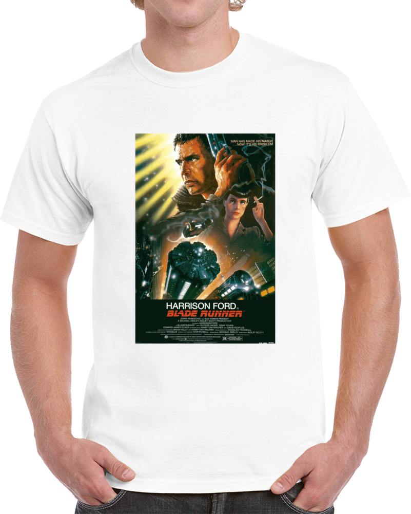X7shvatx 1980s Classic Vintage Movie Poster T-shirt