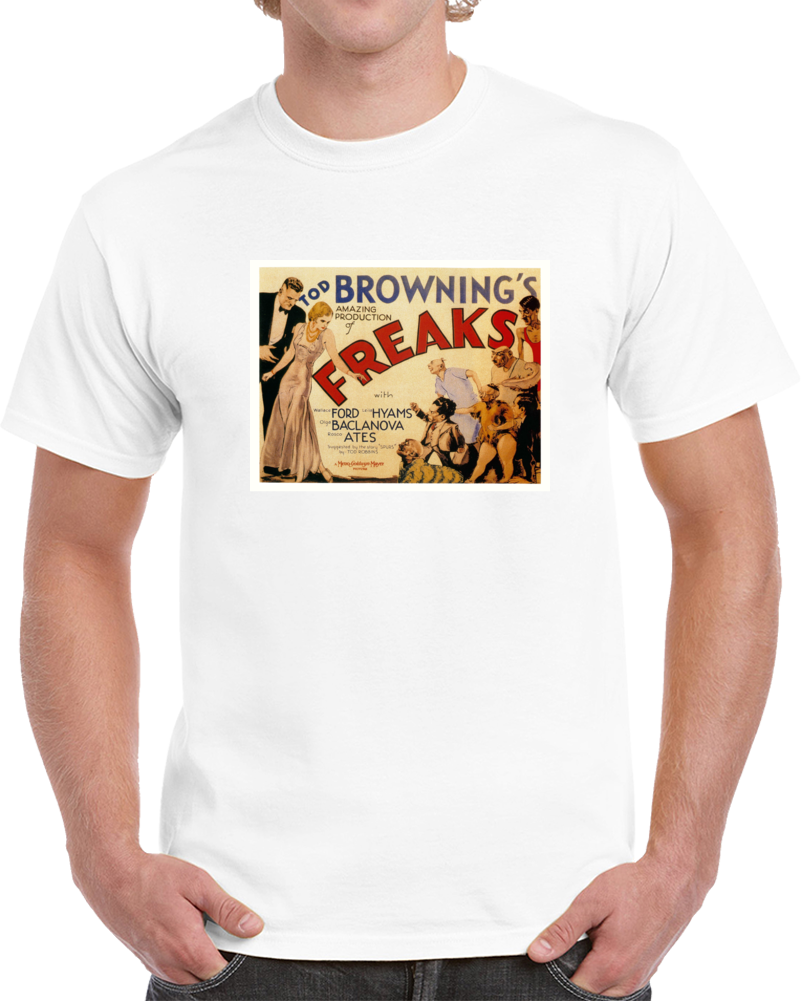 Sr2kqht2 1930s Classic Vintage Movie Poster T-shirt