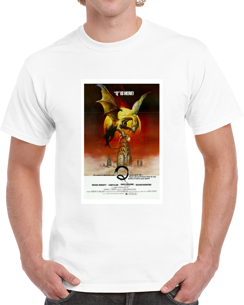 Zzt3f88h 1980s Classic Vintage Movie Poster T-shirt