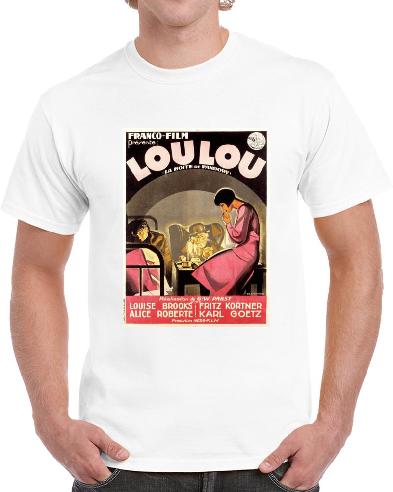 P2r4fqtd 1920s Classic Vintage Movie Poster T-shirt