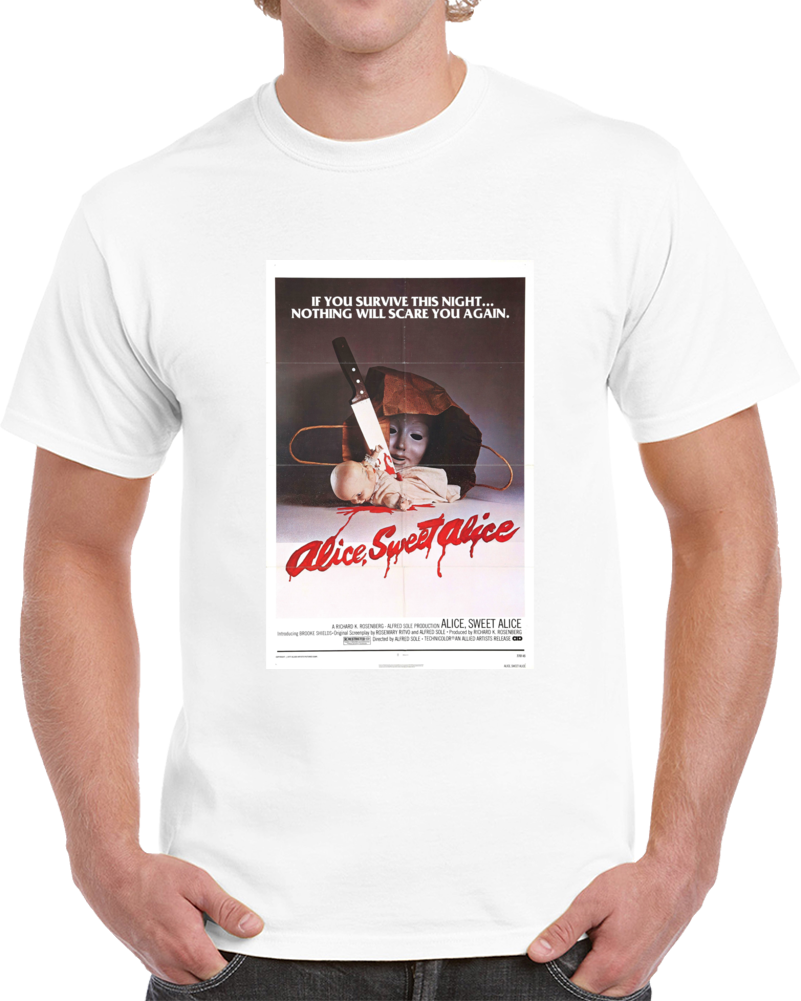 Mfkk8pus 1970s Classic Vintage Movie Poster T-shirt