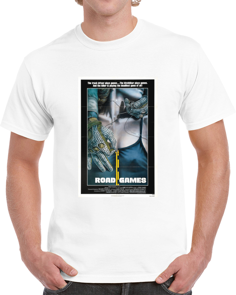 Wealzpxa 1980s Classic Vintage Movie Poster T-shirt