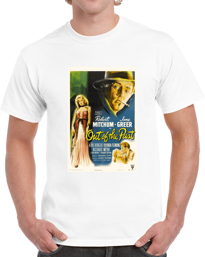 P7mmf7a3 1940s Classic Vintage Movie Poster T-shirt
