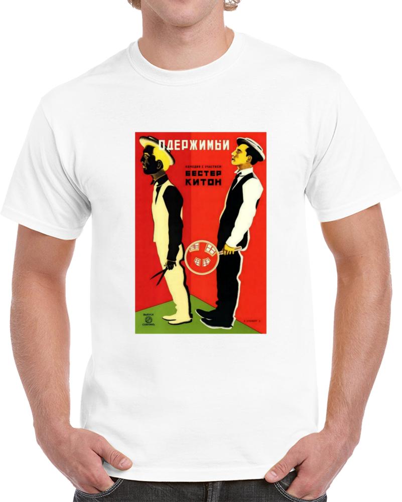 T5lwbfrm 1920s Classic Vintage Movie Poster T-shirt