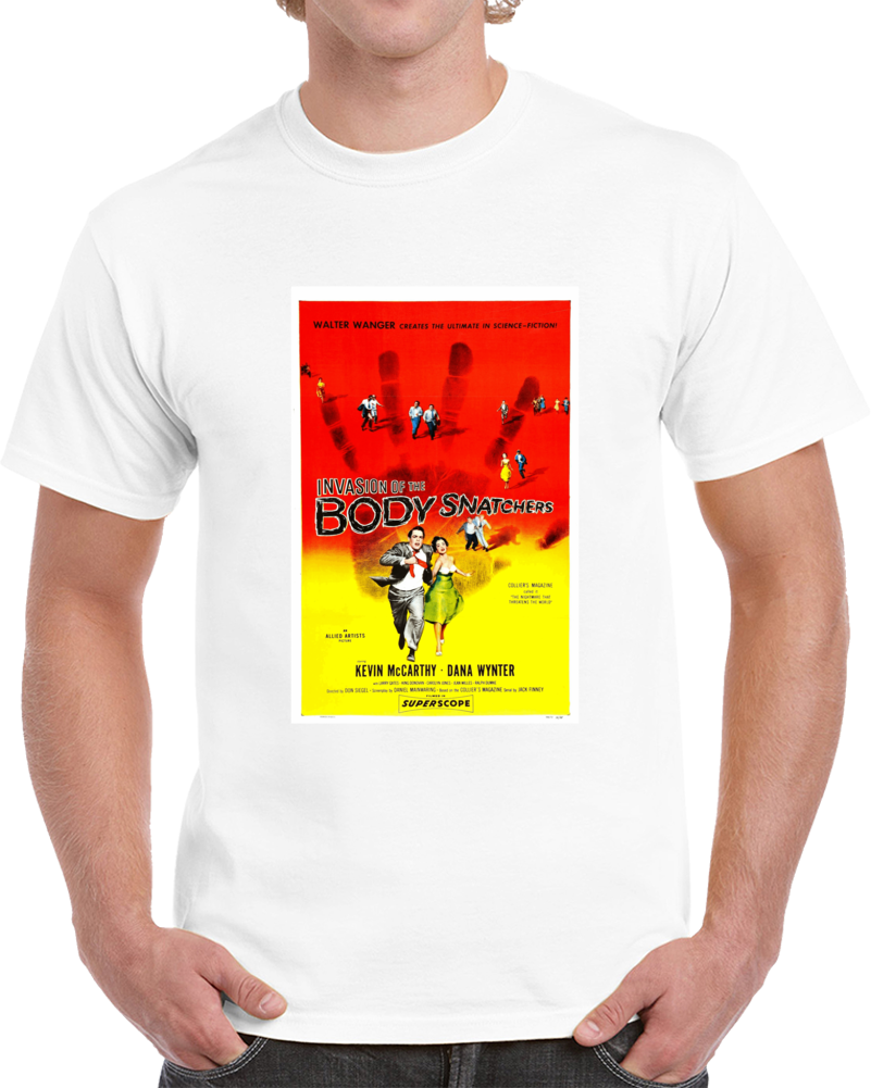 Q27zusft 1950s Classic Vintage Movie Poster T-shirt