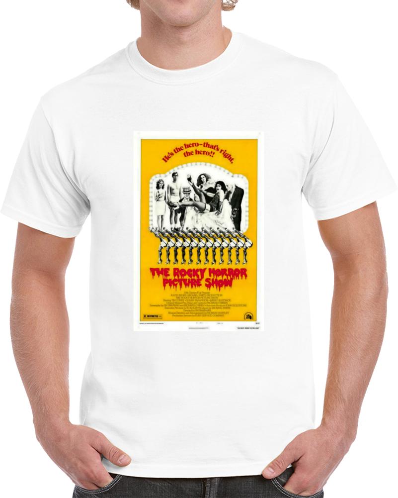 Qc3r3faw 1970s Classic Vintage Movie Poster T-shirt
