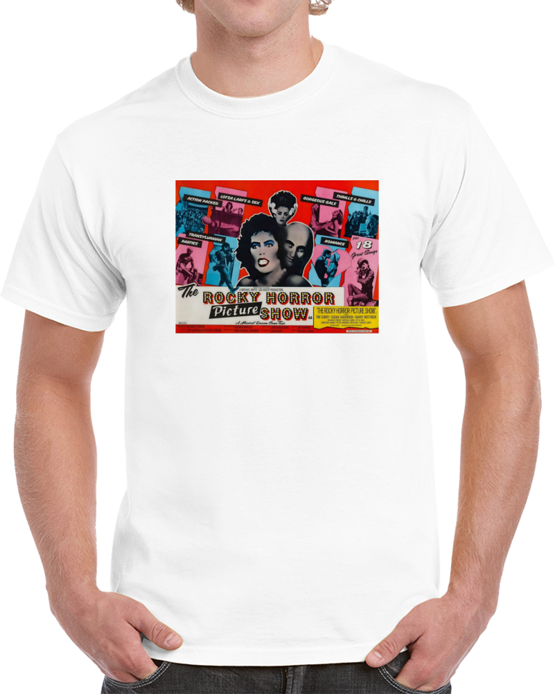 V8uenc46 1970s Classic Vintage Movie Poster T-shirt