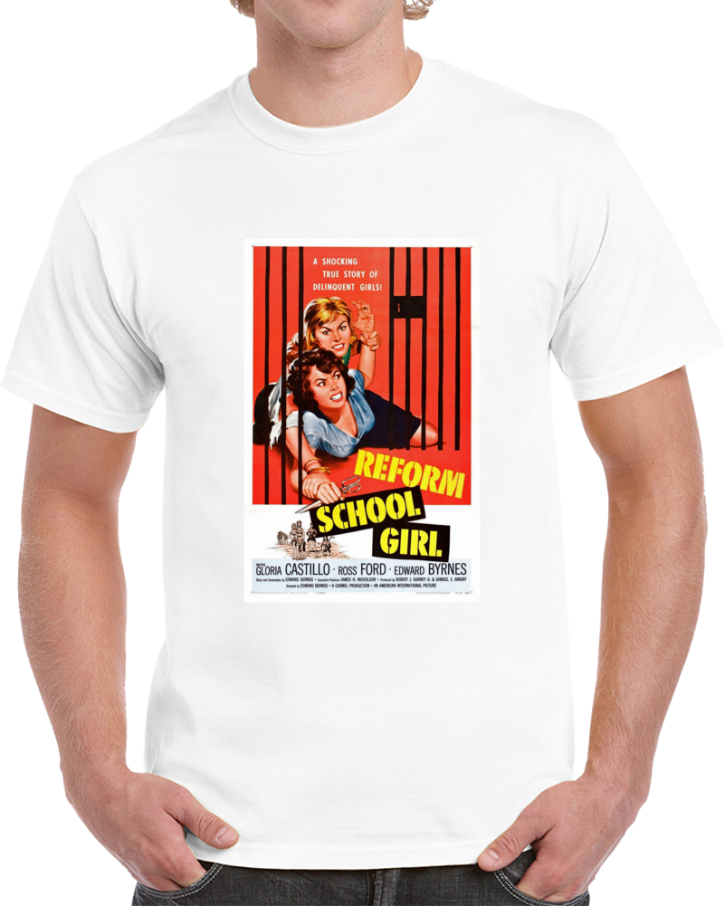 2v89vffn 1950s Classic Vintage Movie Poster T-shirt