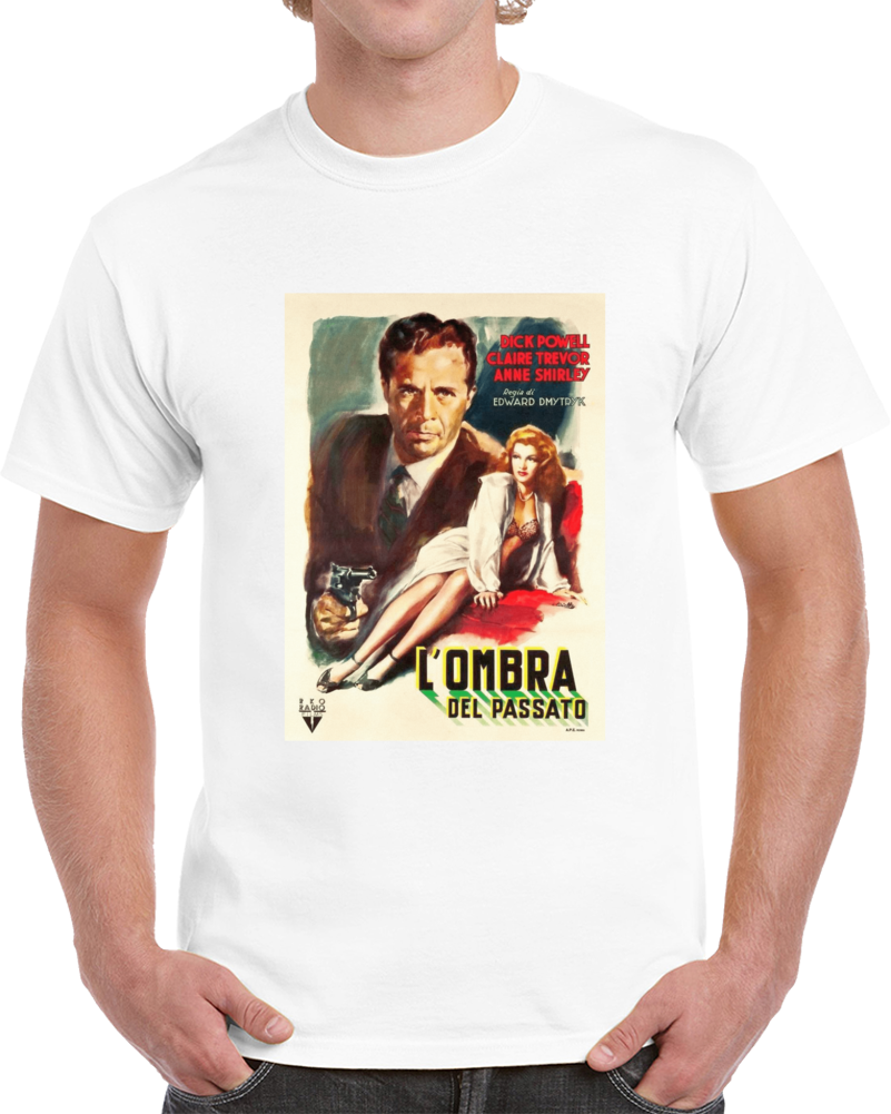 Bn44fzl6 1940s Classic Vintage Movie Poster T-shirt