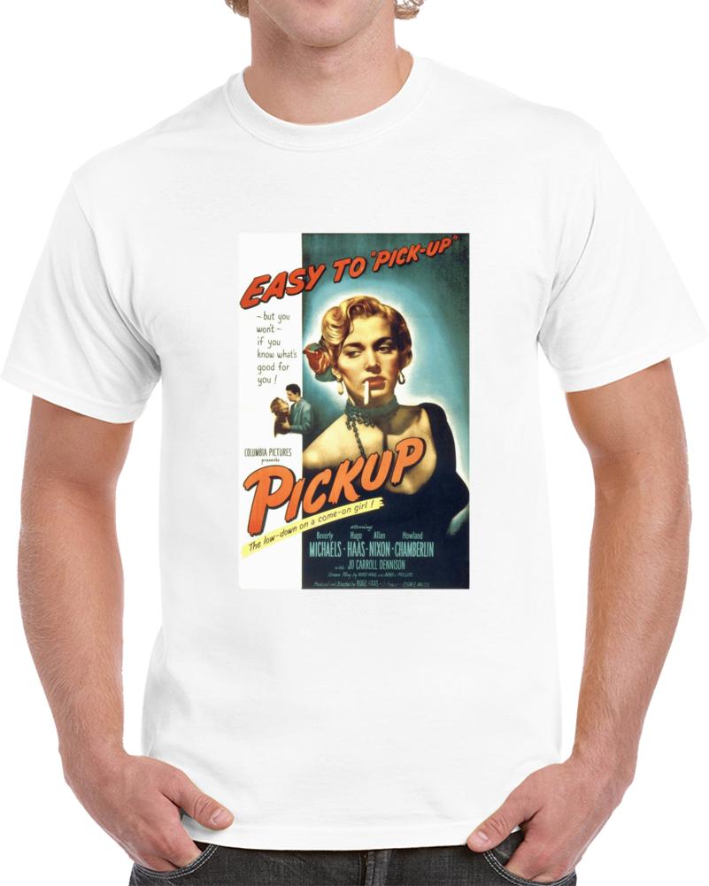 749wsccv 1950s Classic Vintage Movie Poster T-shirt