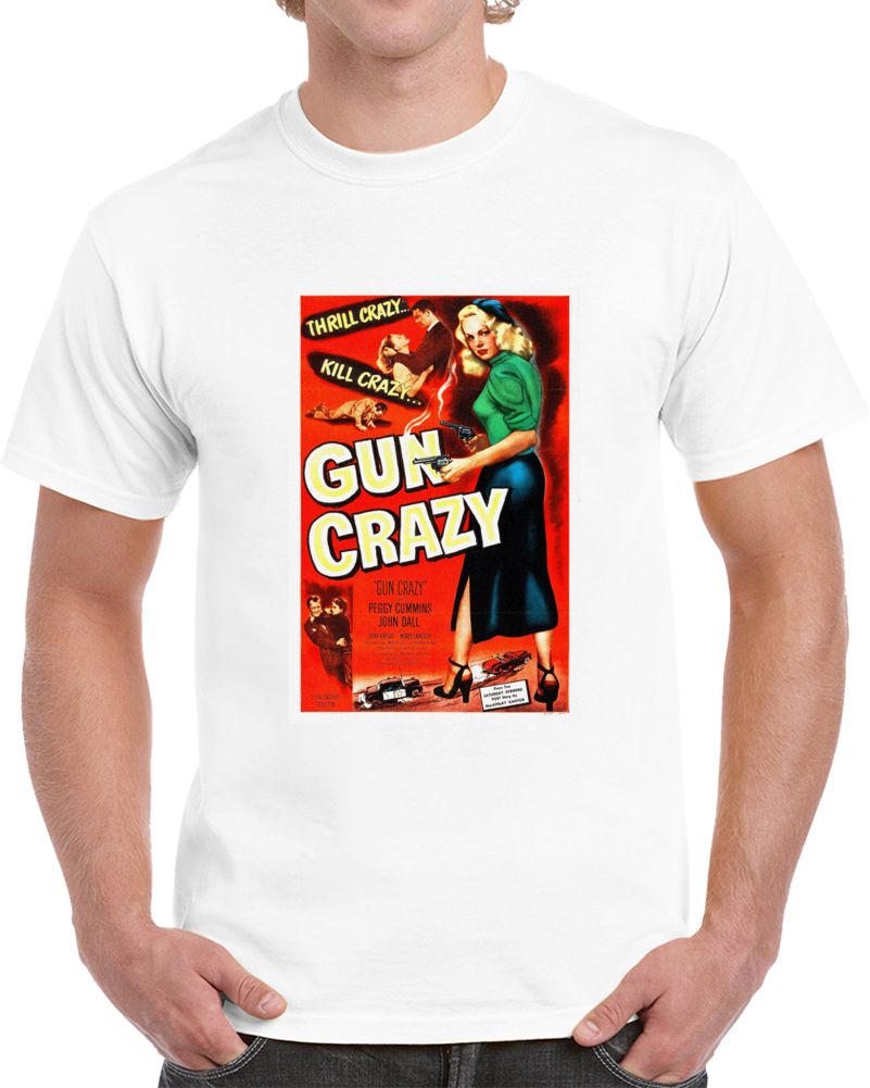 9tv2a45w 1950s Classic Vintage Movie Poster T-shirt