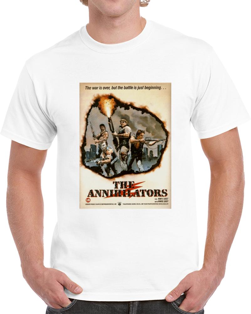 67kk32td 1980s Classic Vintage Movie Poster T-shirt