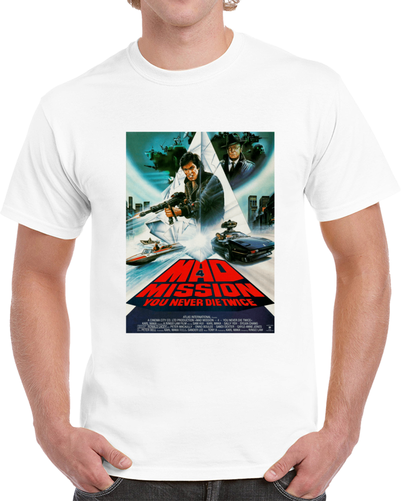Bualbesc 1980s Classic Vintage Movie Poster T-shirt