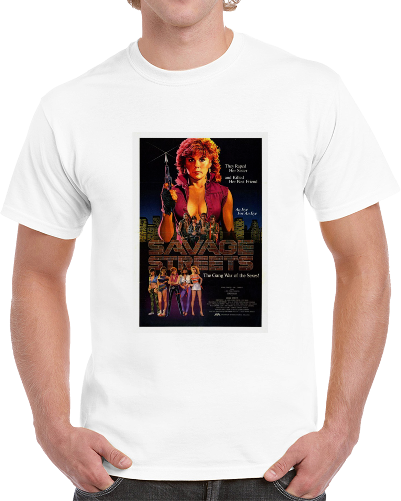 Pa29bff9 1980s Classic Vintage Movie Poster T-shirt