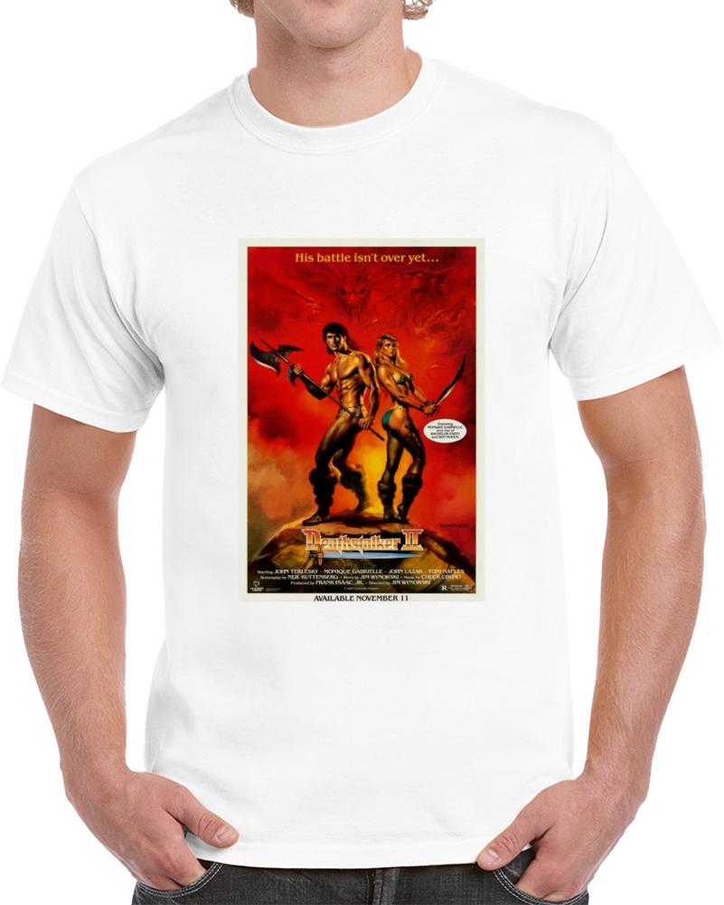Ulmkq6pt 1980s Classic Vintage Movie Poster T-shirt
