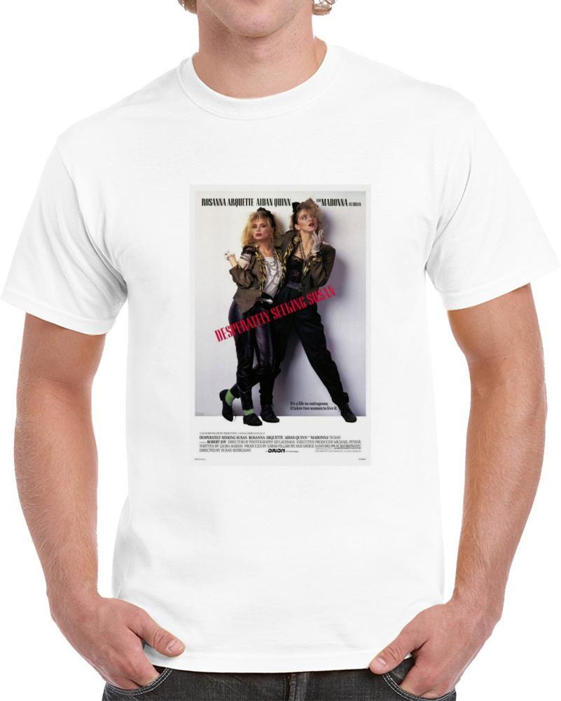 S2sjx39v 1980s Classic Vintage Movie Poster T-shirt