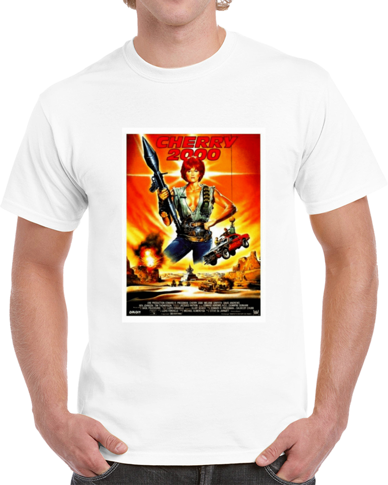 Dud2buyg 1980s Classic Vintage Movie Poster T-shirt