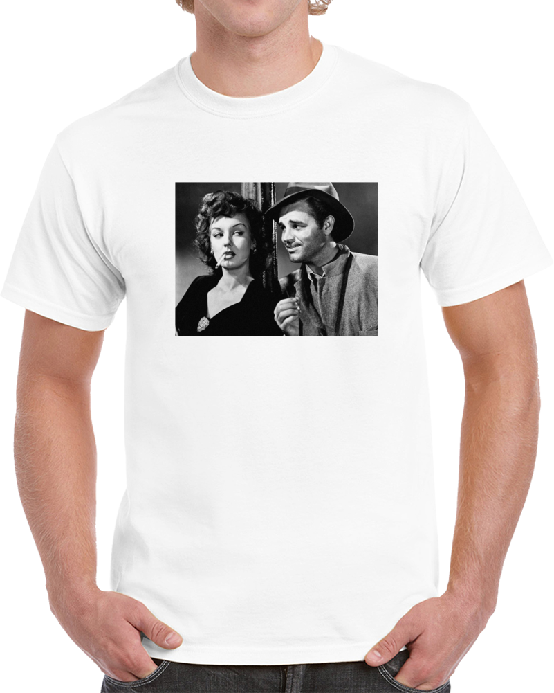 L5dkbsmv 1940s Classic Vintage Movie Poster T-shirt