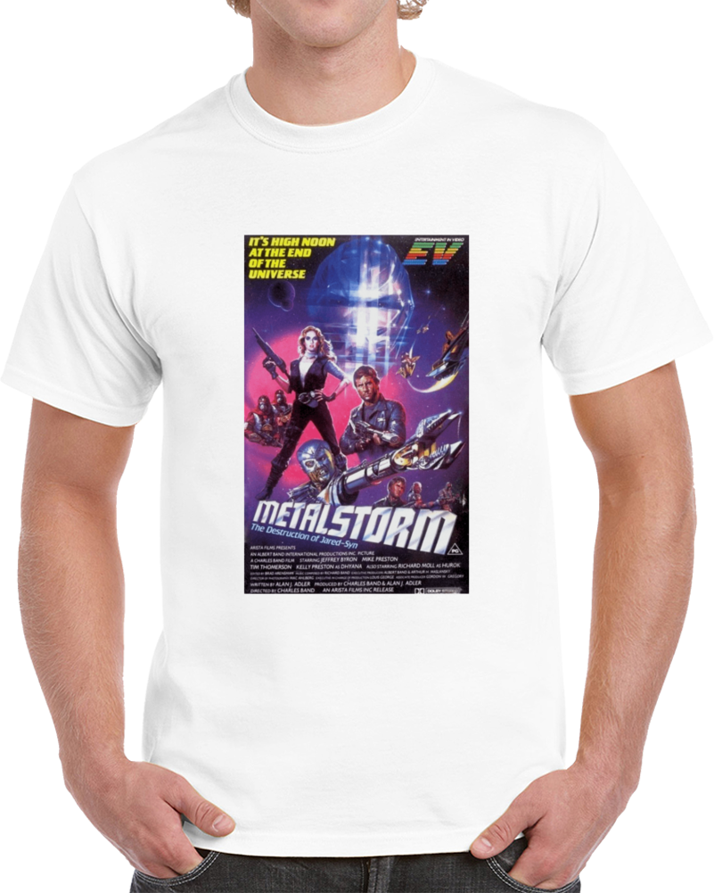 L8h63gna 1980s Classic Vintage Movie Poster T-shirt
