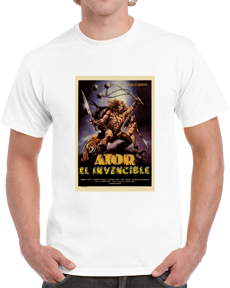 Sx4abe57 1980s Classic Vintage Movie Poster T-shirt