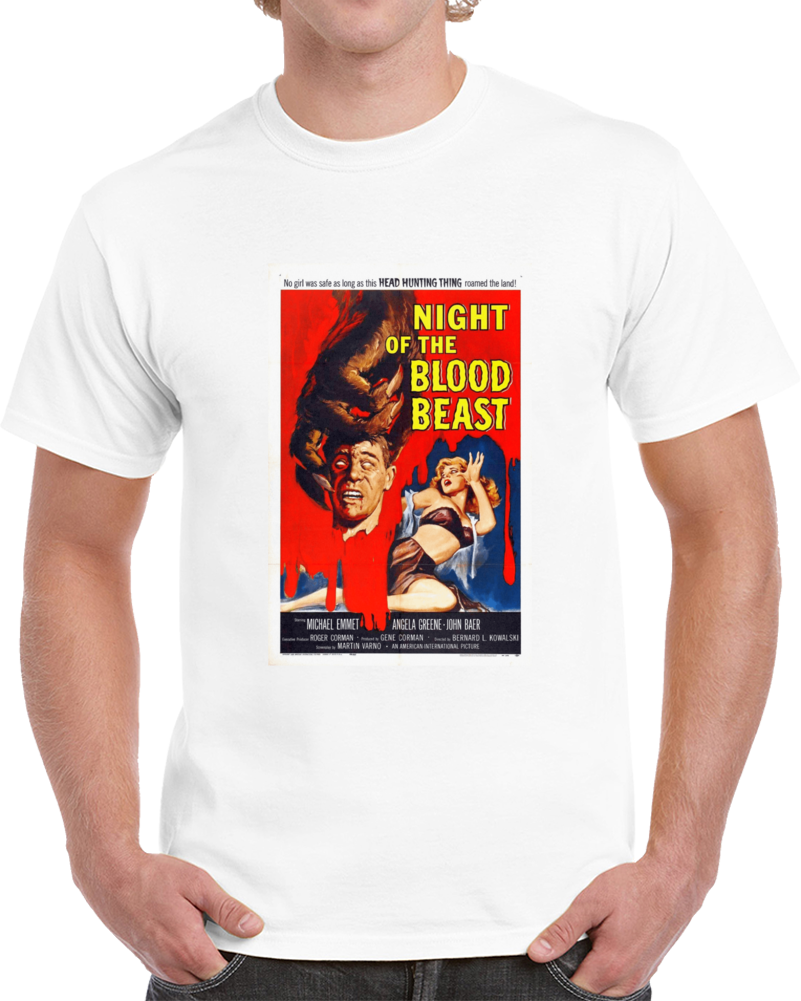 A8upgpeh 1950s Classic Vintage Movie Poster T-shirt