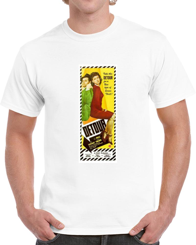 K6dz6jp3 1940s Classic Vintage Movie Poster T-shirt