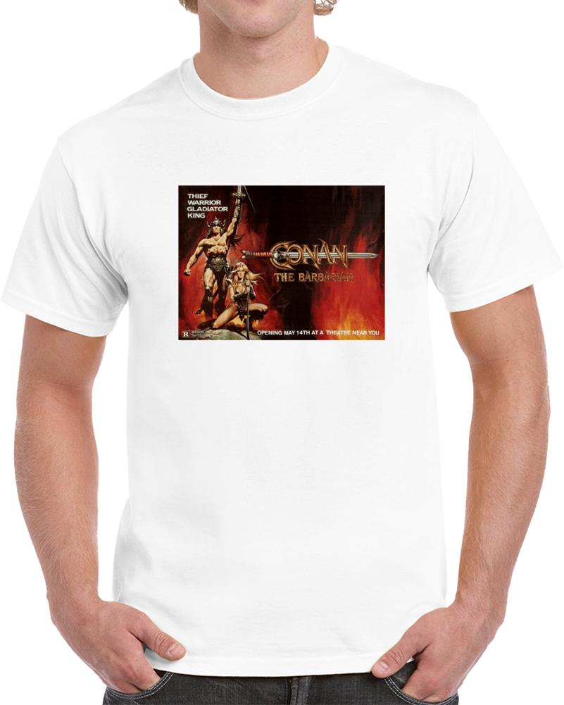Jyhxtlt6 1980s Classic Vintage Movie Poster T-shirt