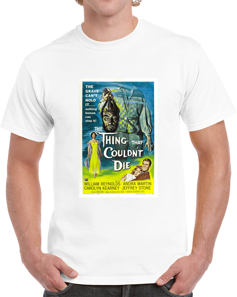 4ymqnrft 1950s Classic Vintage Movie Poster T-shirt