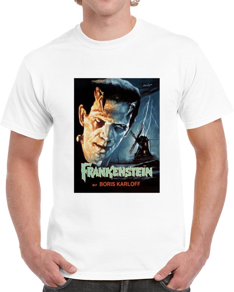 8yw8r8cq 1930s Classic Vintage Movie Poster T-shirt