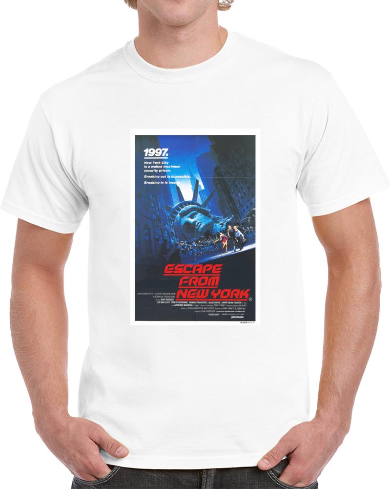 6bqed5ql 1980s Classic Vintage Movie Poster T-shirt