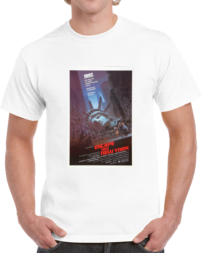 A2mnmesx 1980s Classic Vintage Movie Poster T-shirt