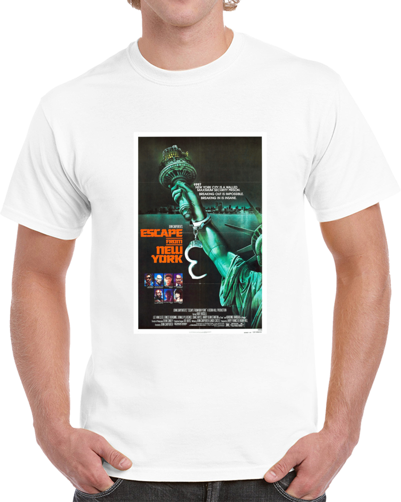 893t259x 1980s Classic Vintage Movie Poster T-shirt