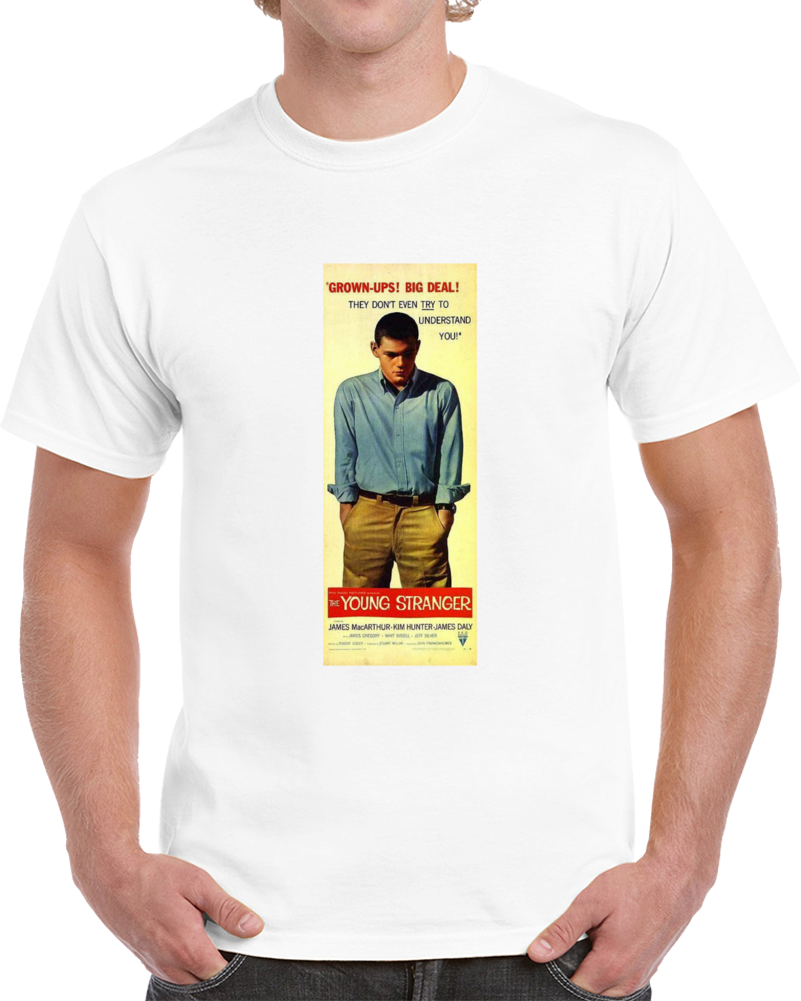 A578a8mc 1950s Classic Vintage Movie Poster T-shirt