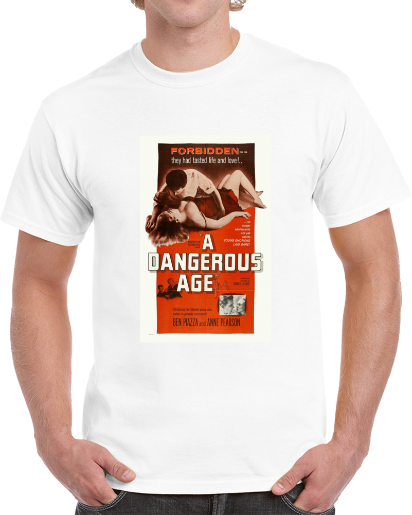 9ev5zmr7 1950s Classic Vintage Movie Poster T-shirt