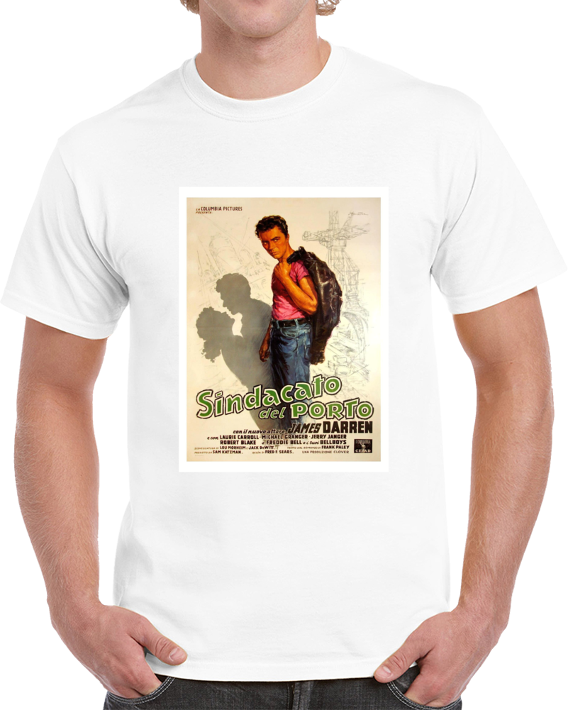 Z6rkwbcv 1950s Classic Vintage Movie Poster T-shirt